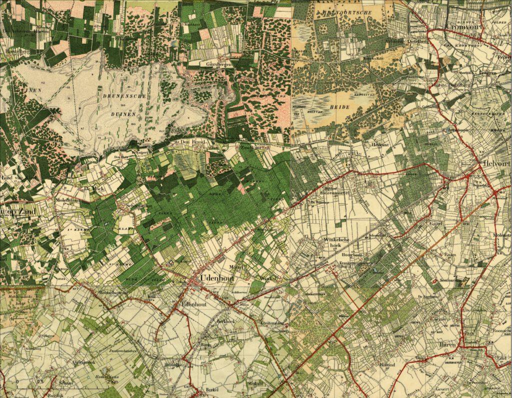 Udenhout circa 1920